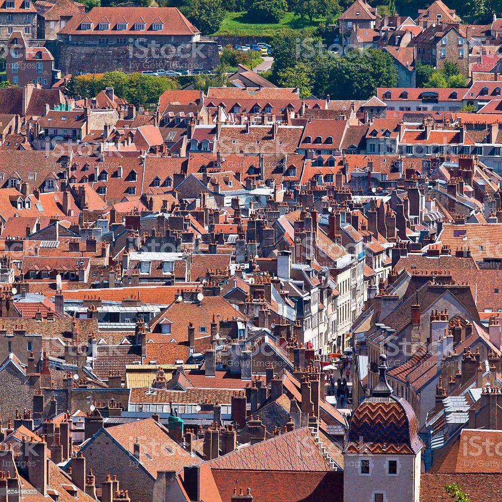 Old European City stock photo