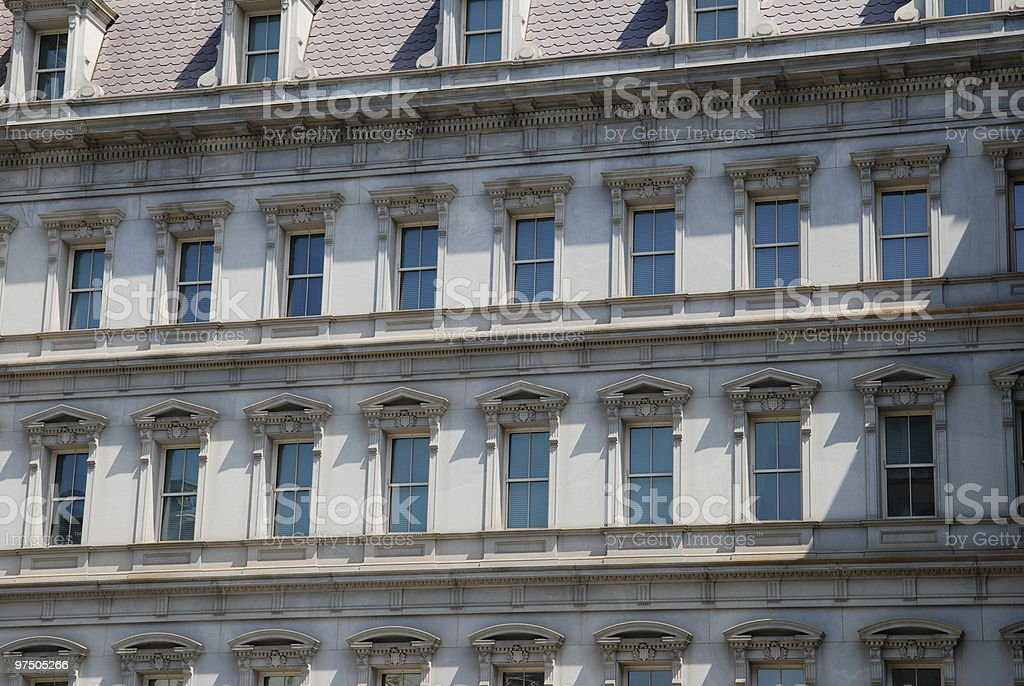 Old Executive Office Building stock photo