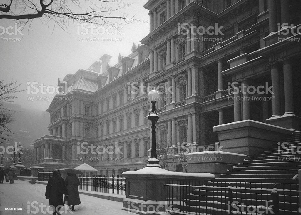 Old Executive Office Building, Washington, DC stock photo