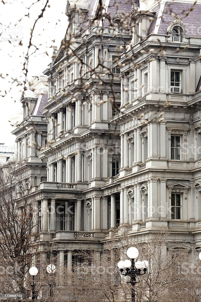 Old Executive Office Building Washington DC stock photo