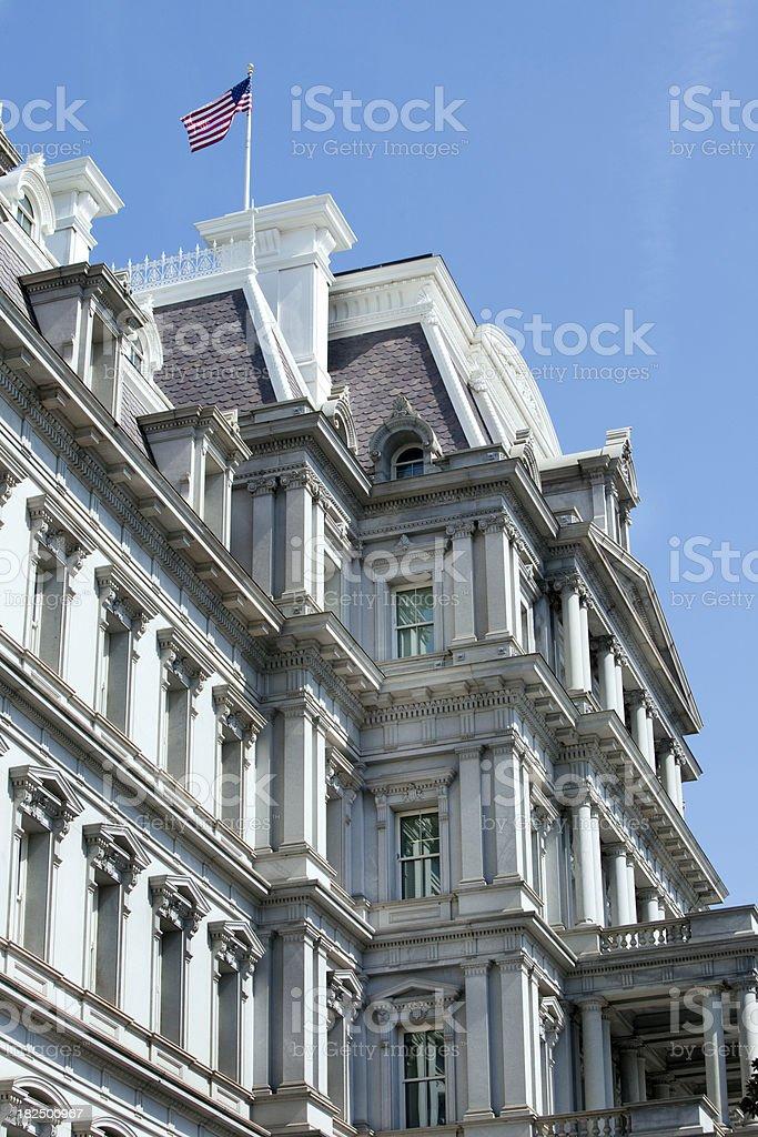 Old Executive Office Building WashingtonDC stock photo