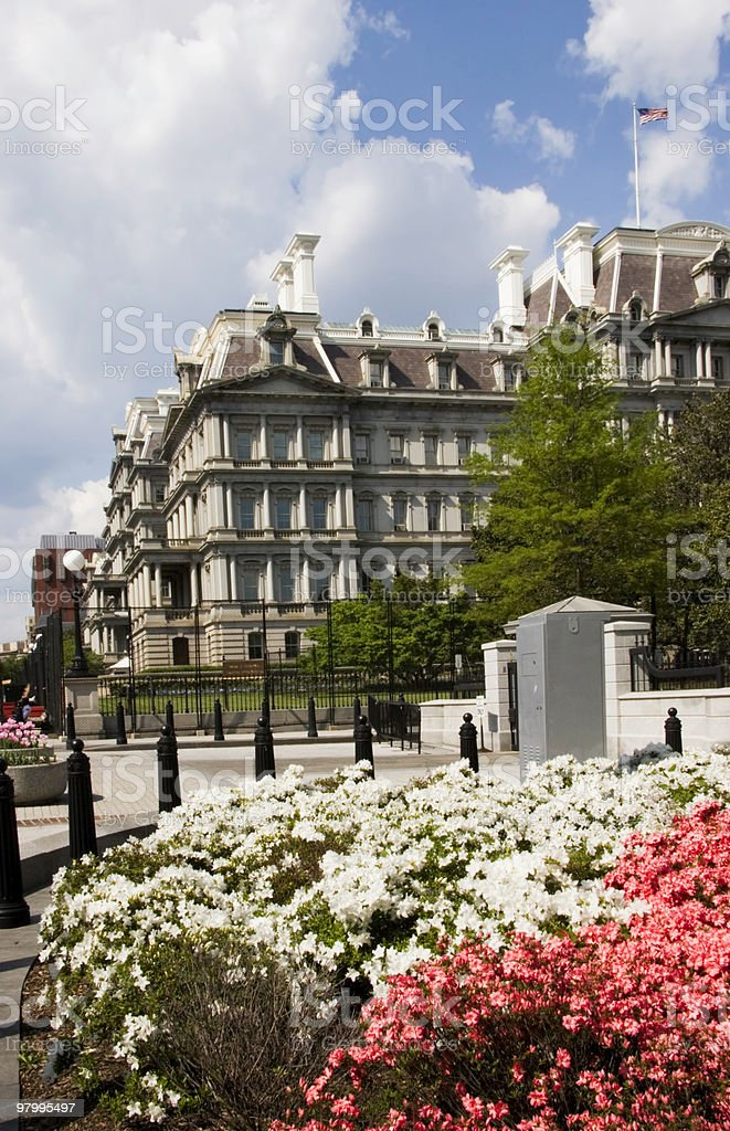 Old Executive Office Buildings stock photo