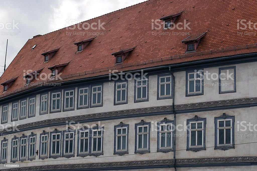 old facade royalty-free stock photo