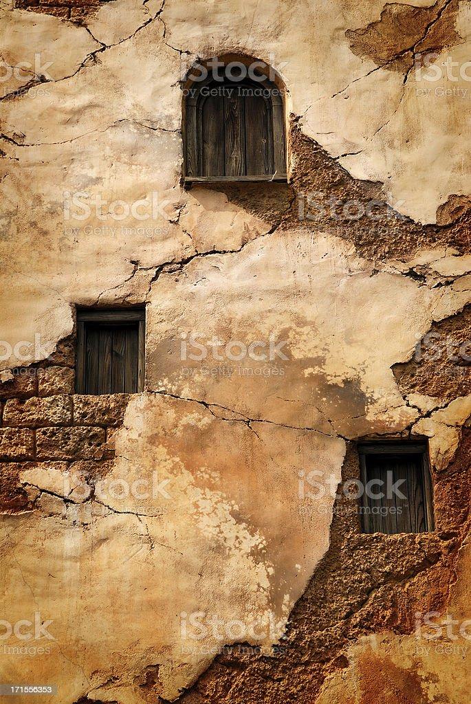 old facade royalty-free stock photo