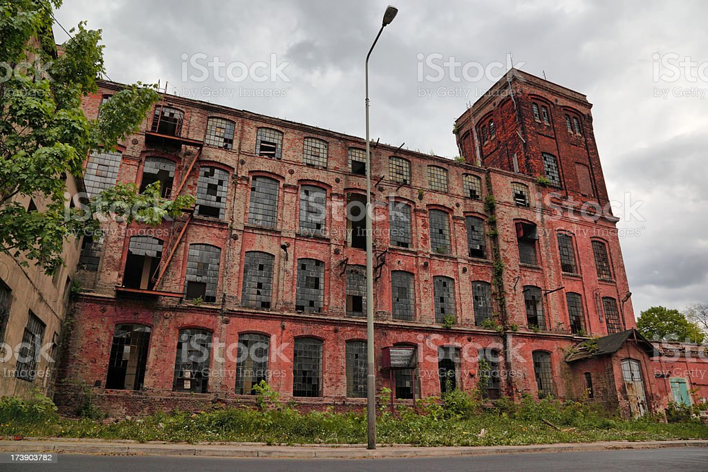 Old Factory ( 21 Mpx ) royalty-free stock photo