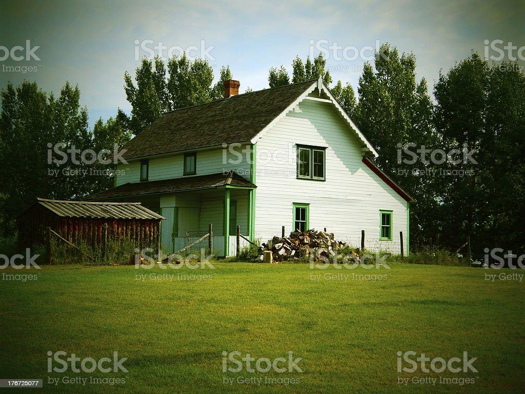 Old Farm House Photo stock photo