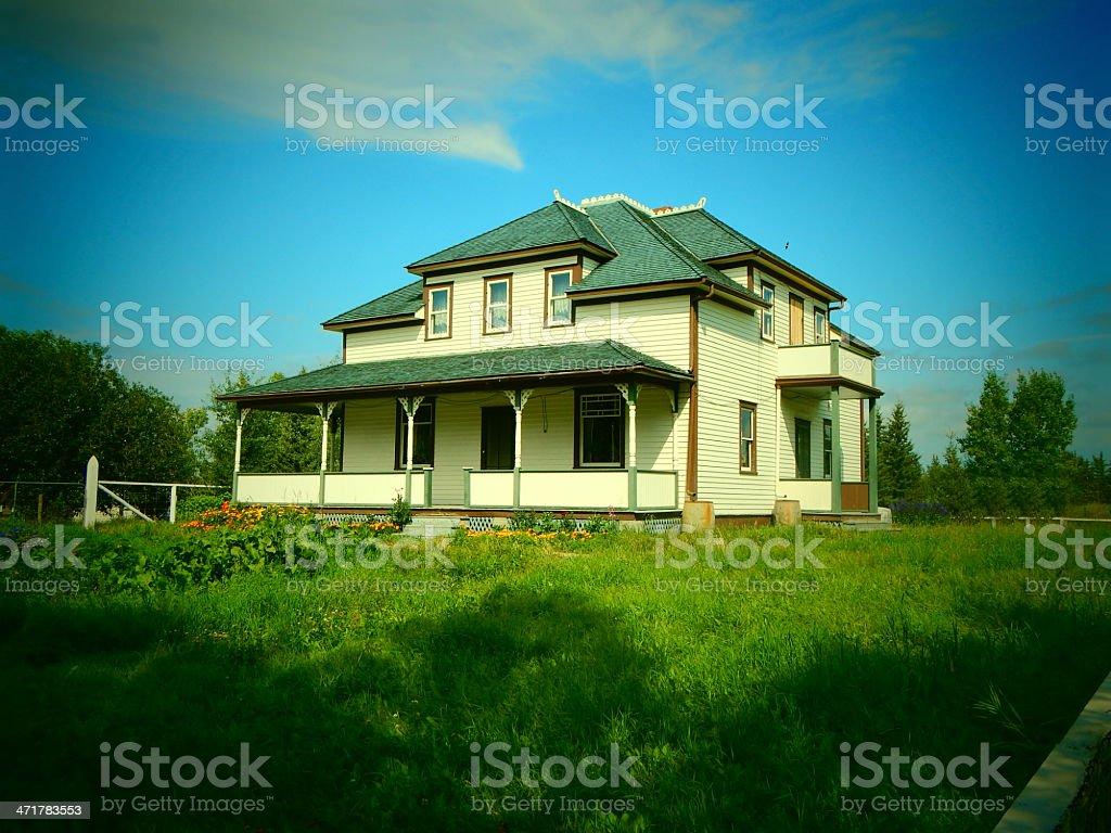 Old Farm House Photo royalty-free stock photo