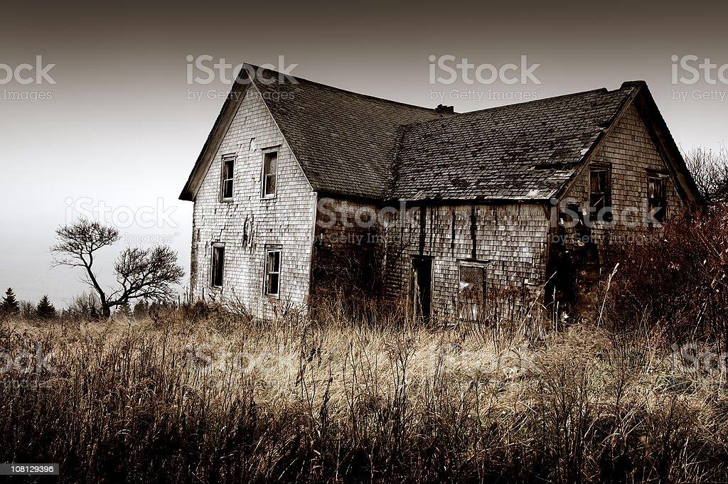 Old Farm House royalty-free stock photo