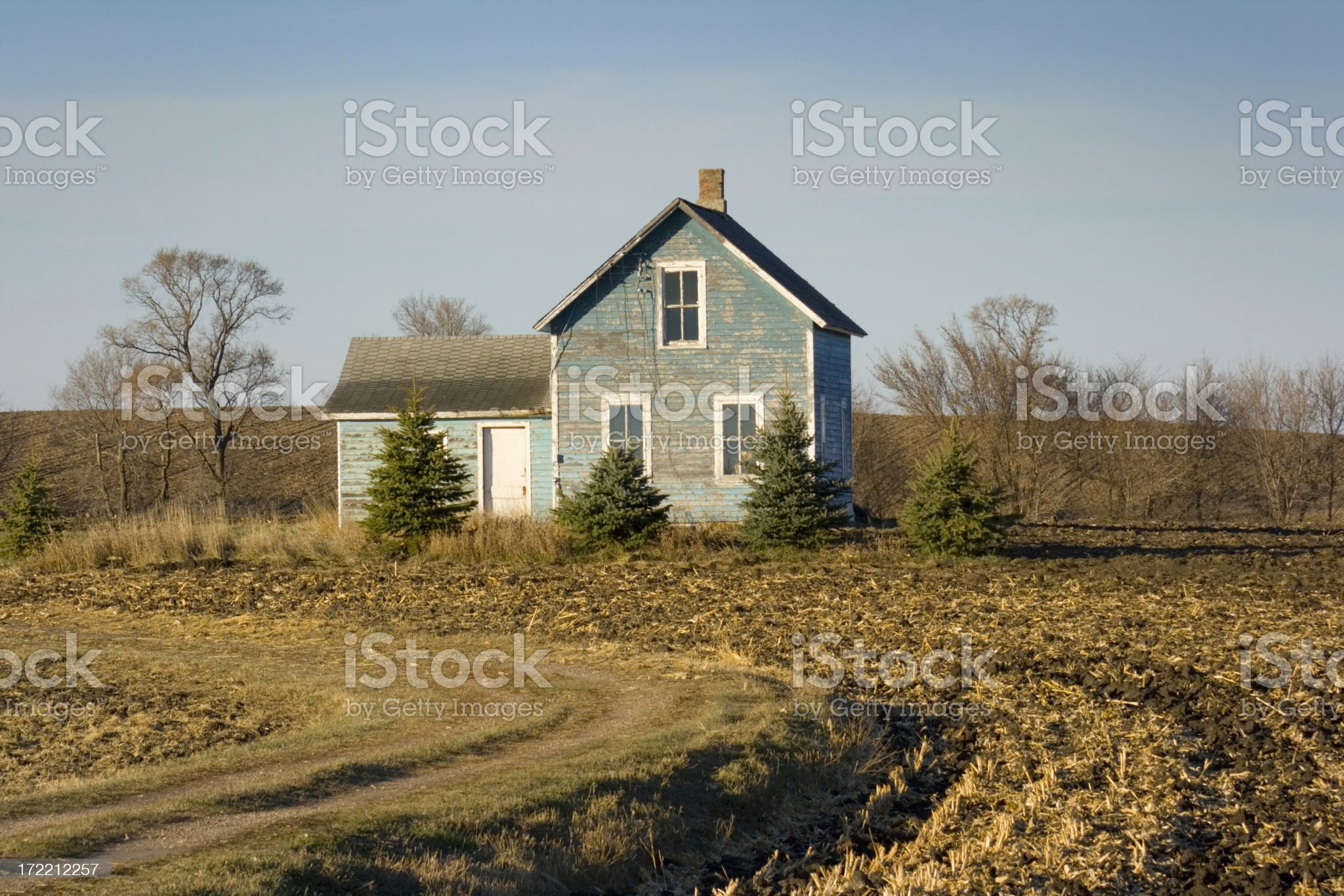 Old Farm House royalty-free stock photo