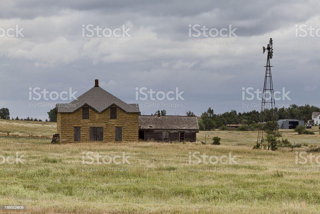 Old Farm House stock photo