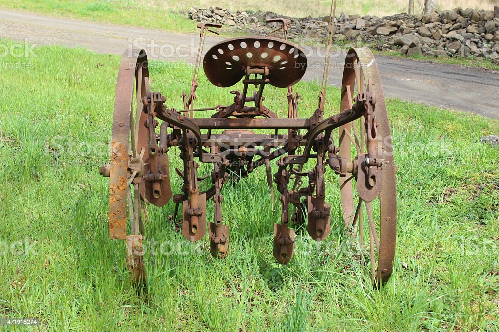Old Farm Machinery III stock photo