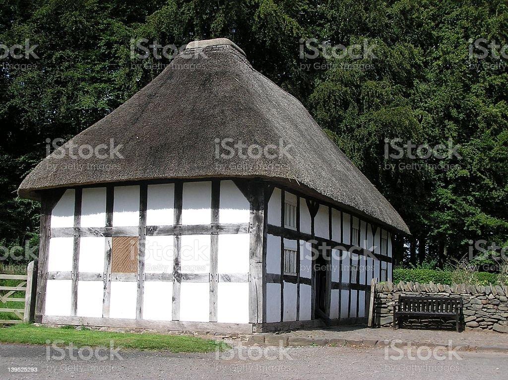 Old Farmhouse stock photo
