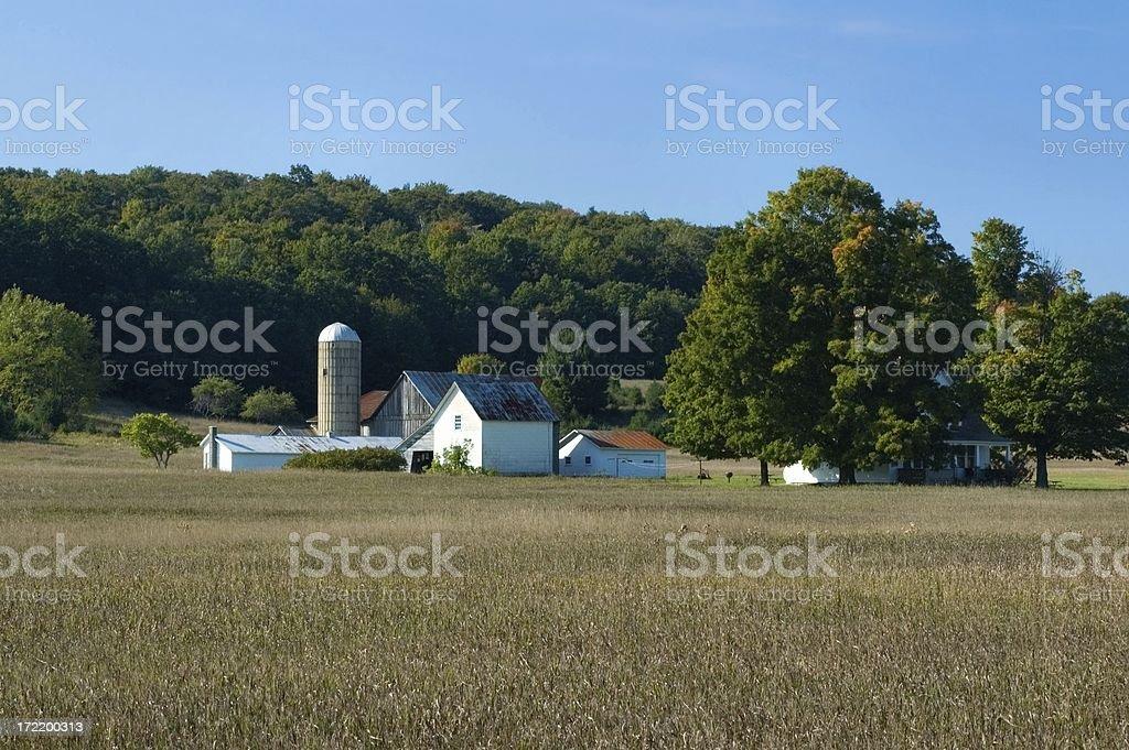 Old Farmstead stock photo
