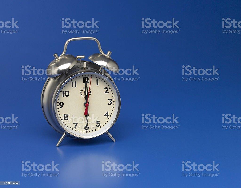 Old Fashioned Alarm Clock stock photo