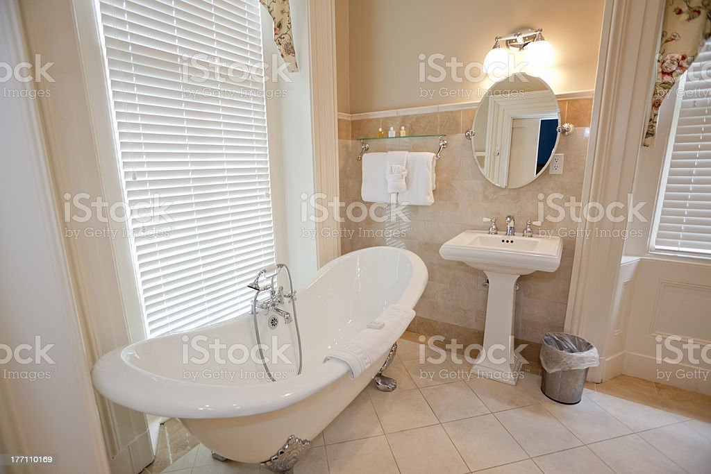 Old Fashioned Bathroom stock photo