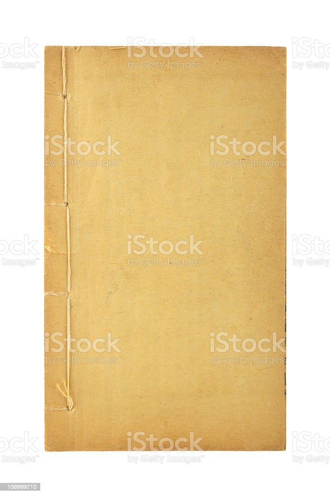 Old fashioned bookbinding stock photo