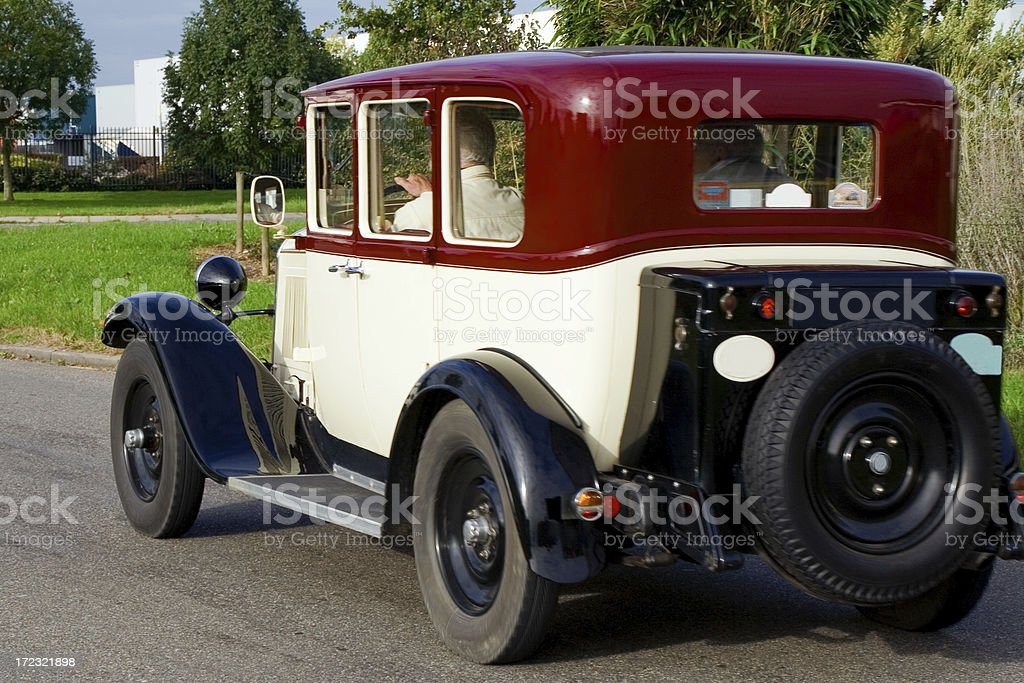 Old fashioned car # 5 royalty-free stock photo