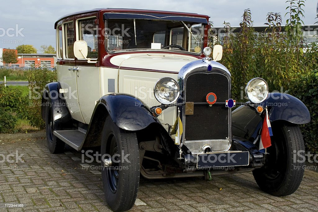 Old fashioned car # 4 royalty-free stock photo