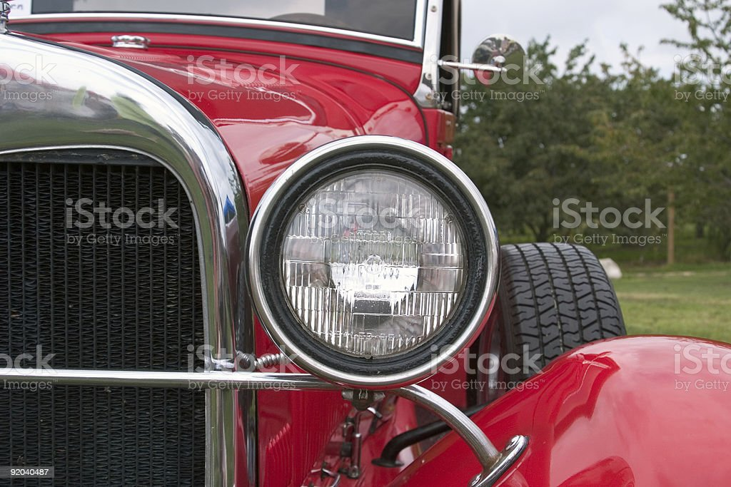 Old Fashioned Car royalty-free stock photo