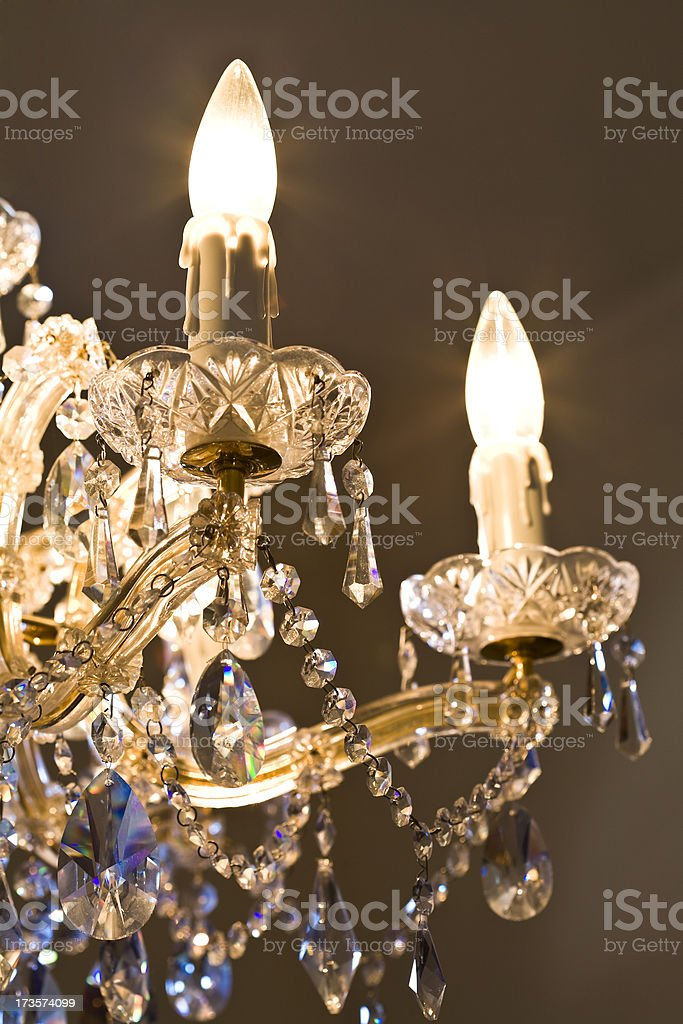 Old Fashioned Chandelier royalty-free stock photo