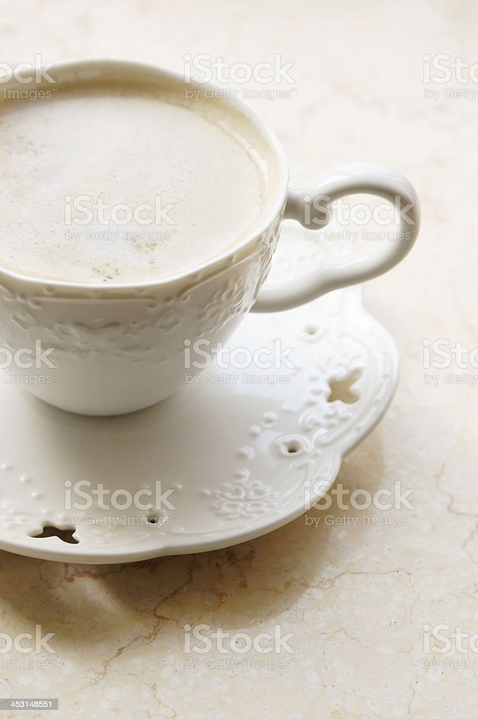Old Fashioned Cup of Coffee royalty-free stock photo