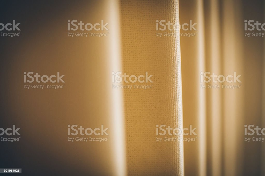 Old fashioned folding door stock photo