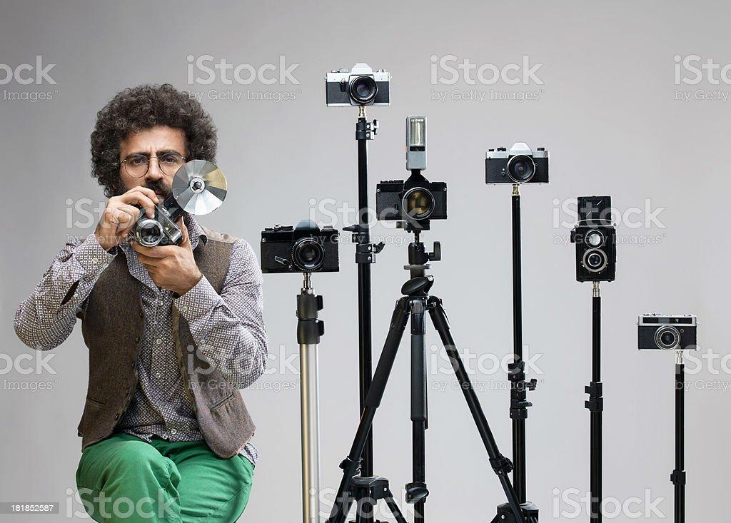 Old Fashioned Photographer stock photo