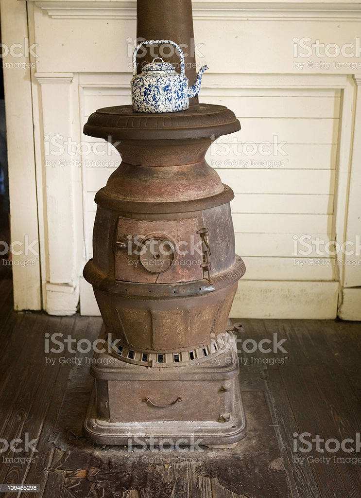 Old Fashioned Stove stock photo
