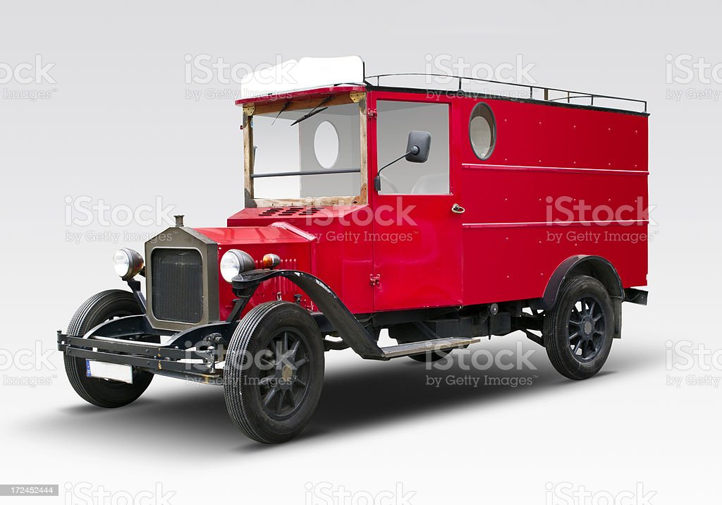 Old Fashioned Truck royalty-free stock photo