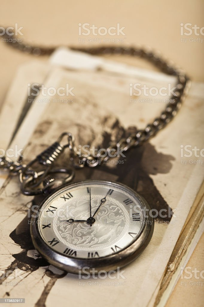 Old Fashioned Watch royalty-free stock photo