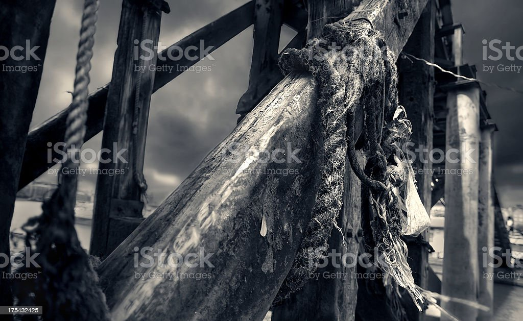 Old father thames 2 royalty-free stock photo