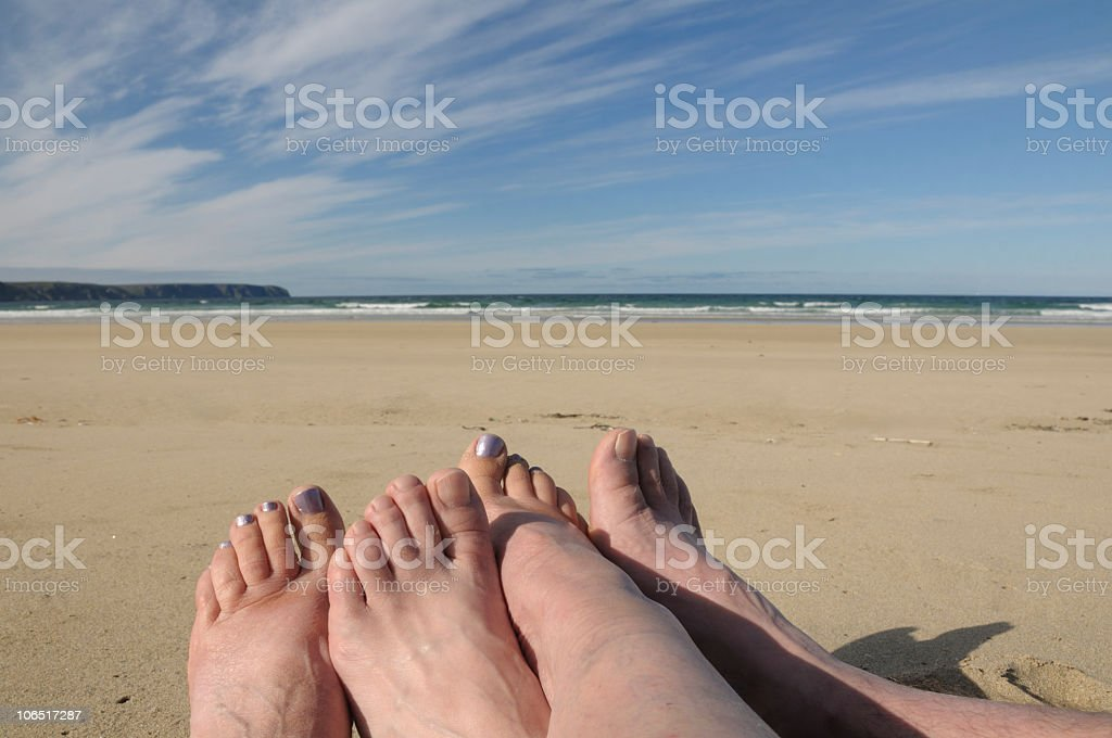 Old feet. royalty-free stock photo