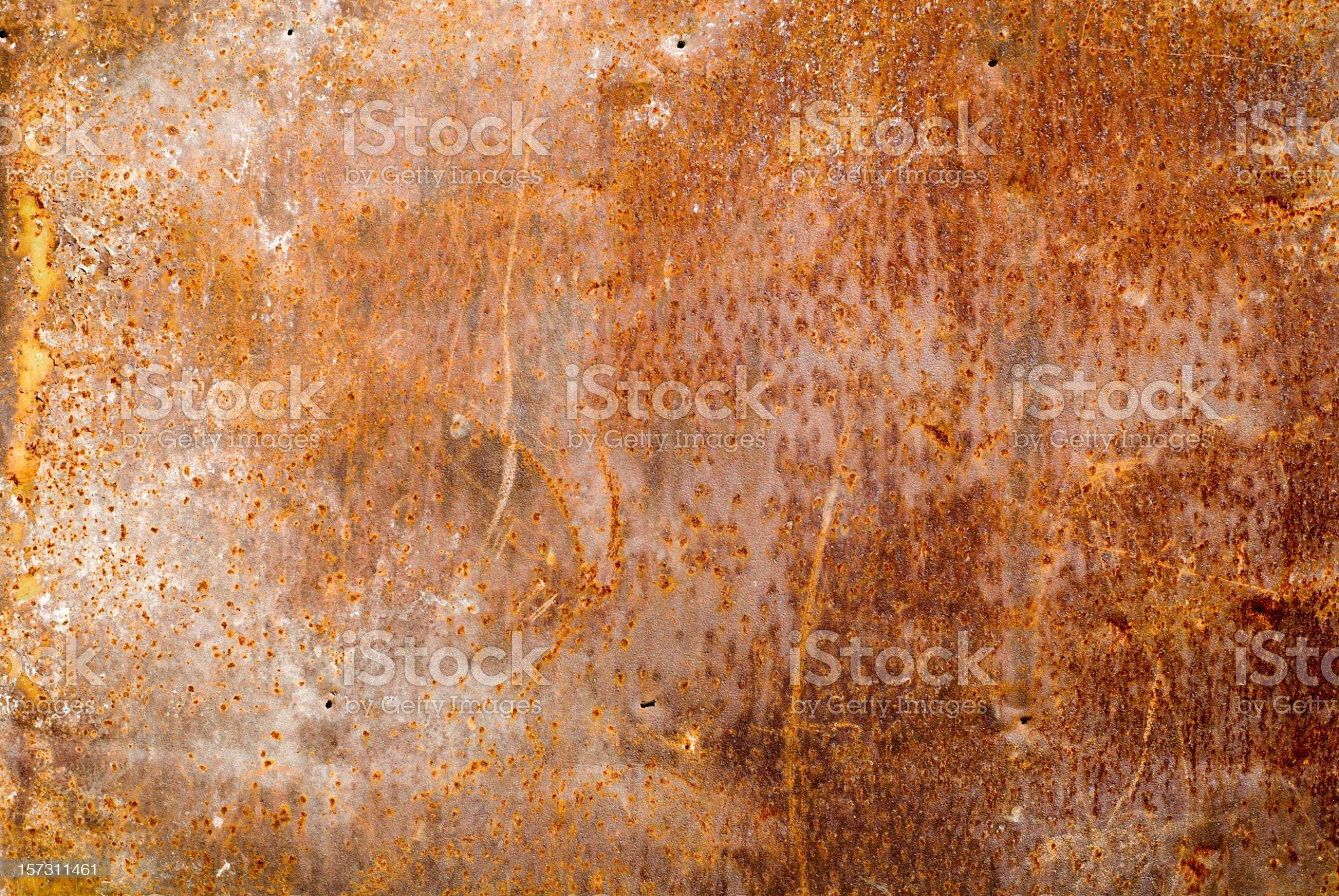 old ferruginous sheet of iron royalty-free stock photo