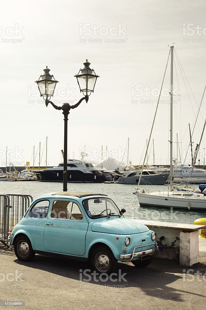 Old Fiat 500 royalty-free stock photo