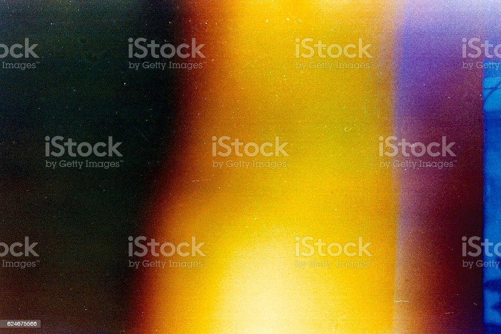 Old Film Light Leaks stock photo