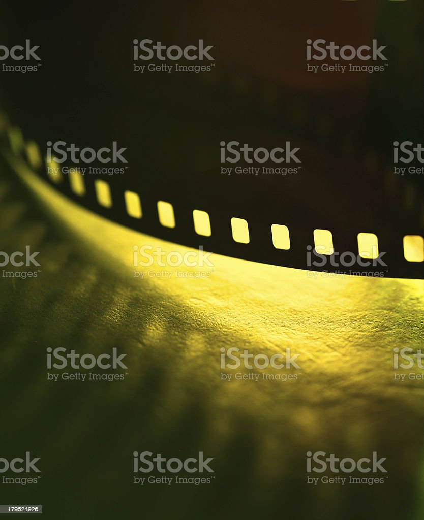 Old Film stock photo