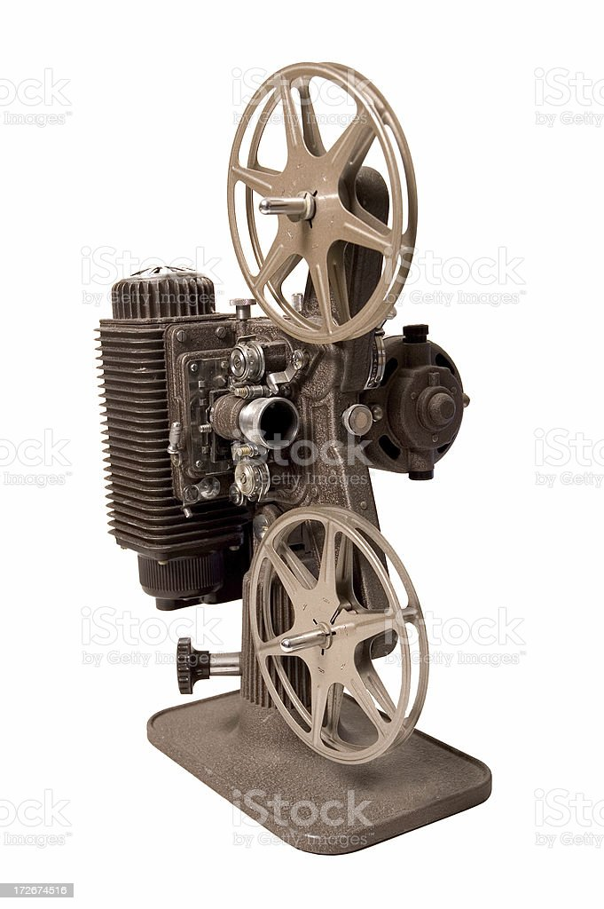 Old Film Projector royalty-free stock photo