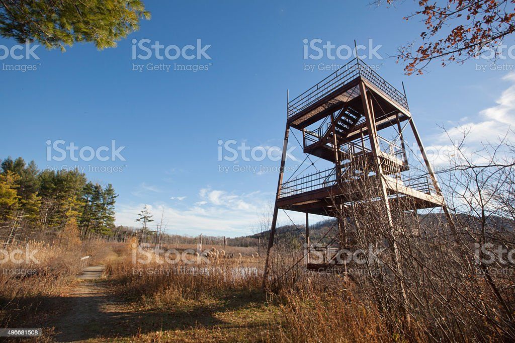 Old Fire Tower stock photo