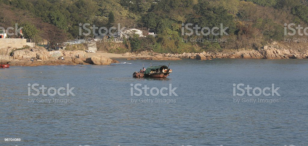 Old Fisherman Boat royalty-free stock photo