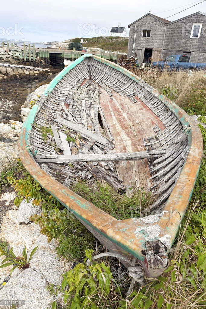 Old Fishing Boat royalty-free stock photo