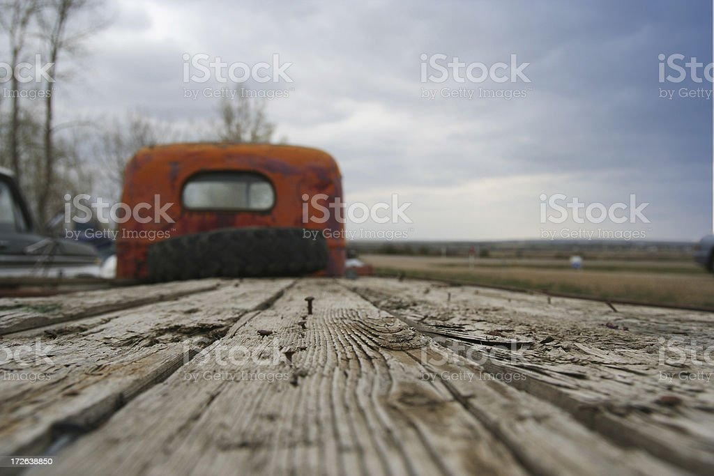Old Flatbed royalty-free stock photo