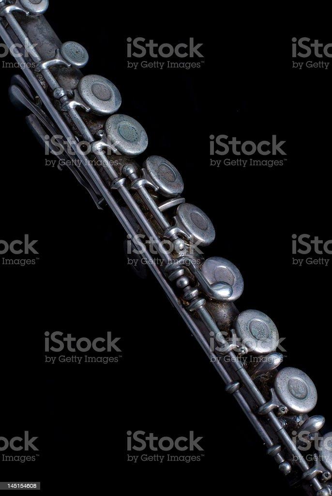 Old Flauta foto royalty-free