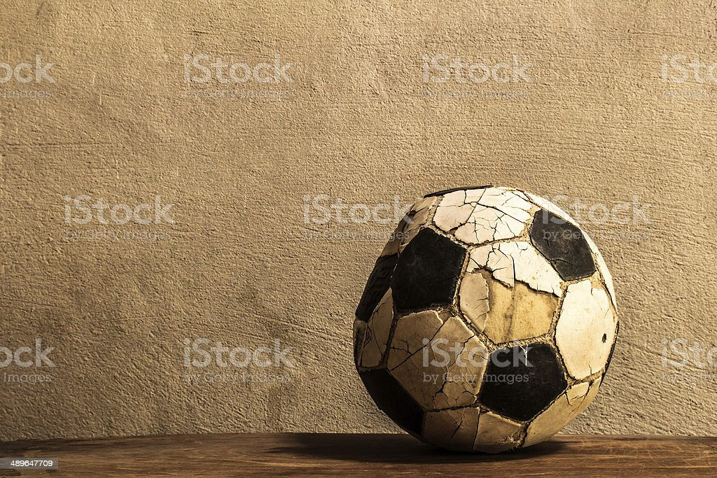 Old football stock photo