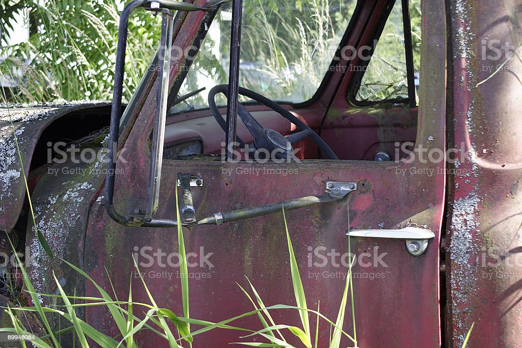 Old Ford royalty-free stock photo