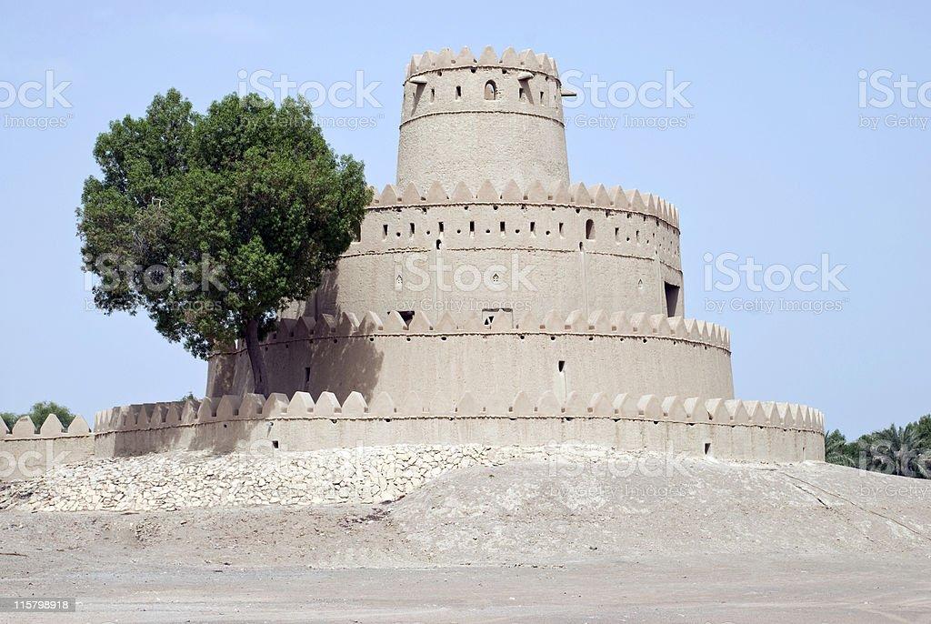 Old Fort, Al Ain, Abu Dhabi, United Arab Emirates royalty-free stock photo