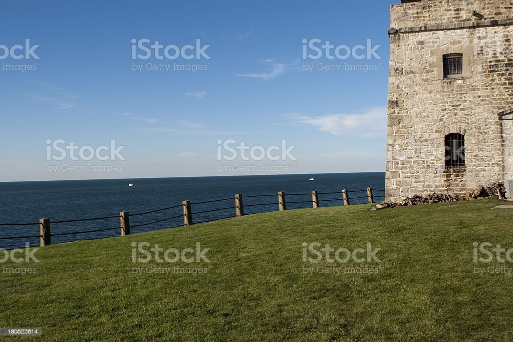 Old Fort Niagara royalty-free stock photo
