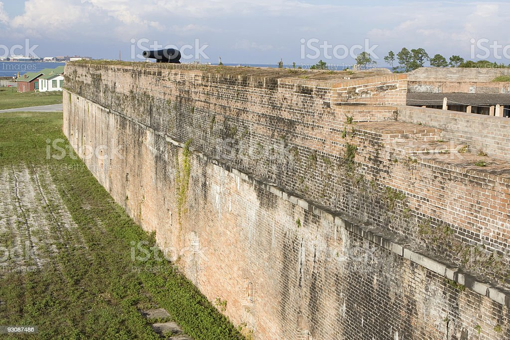 Old Fort Pickens stock photo