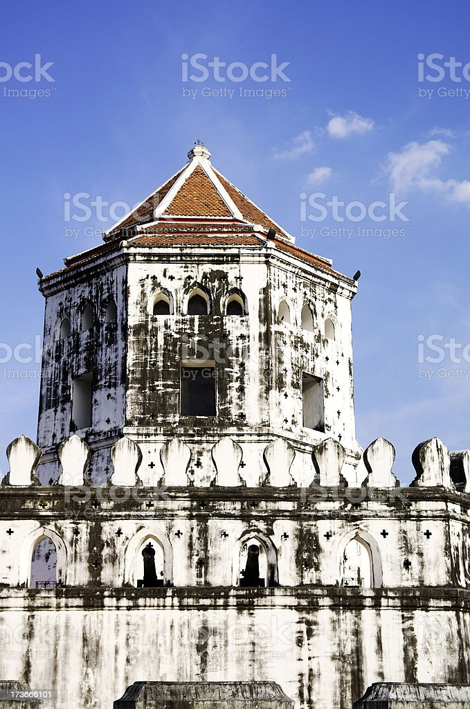 old fortification royalty-free stock photo