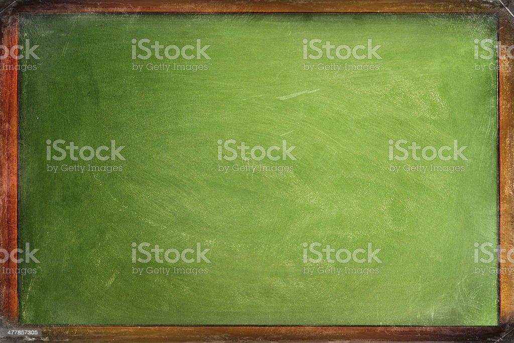 Old Framed blackboard royalty-free stock photo
