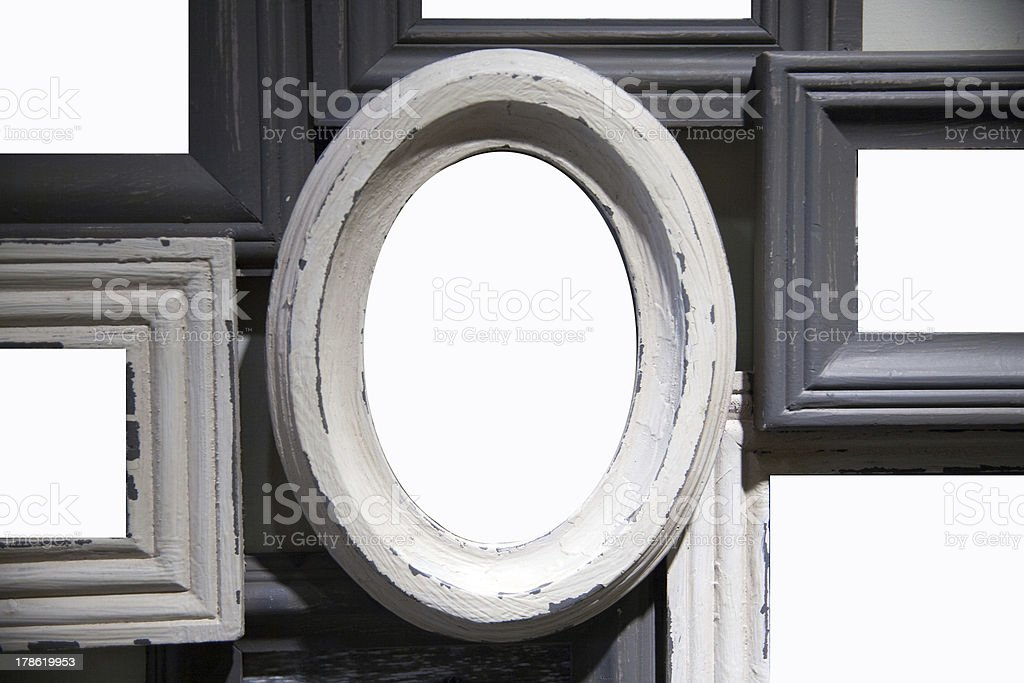 old frames royalty-free stock photo